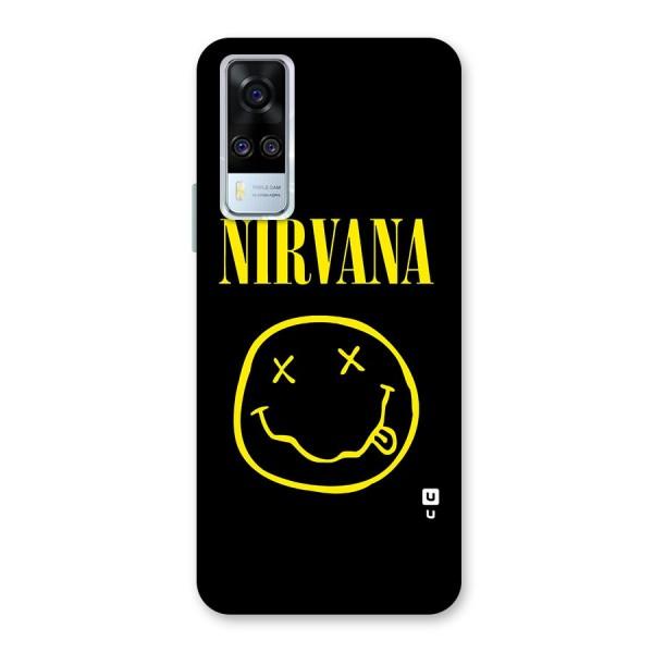 Nirvana Smiley Back Case for Vivo Y51A