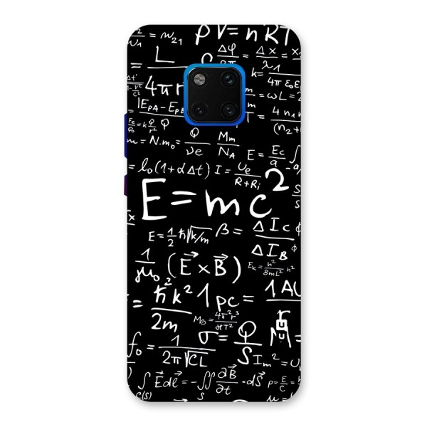 Physics Equation Back Case for Huawei Mate 20 Pro