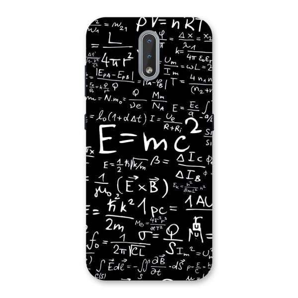 Physics Equation Back Case for Nokia 2.3