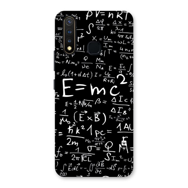Physics Equation Back Case for Vivo U20
