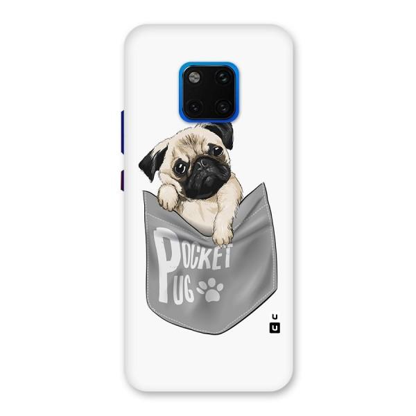 Pocket Pug Back Case for Huawei Mate 20 Pro