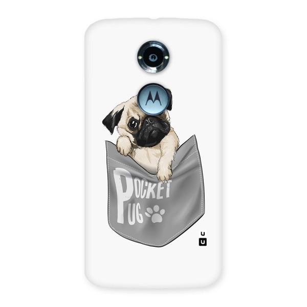 Pocket Pug Back Case for Moto X 2nd Gen