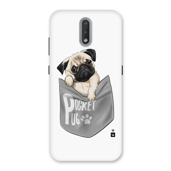 Pocket Pug Back Case for Nokia 2.3