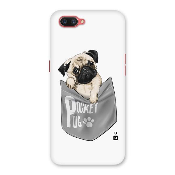 Pocket Pug Back Case for Oppo A3s