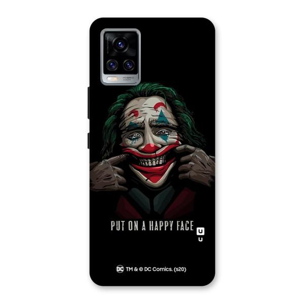 Put On a Happy Face Joker Back Case for Vivo V20 Pro