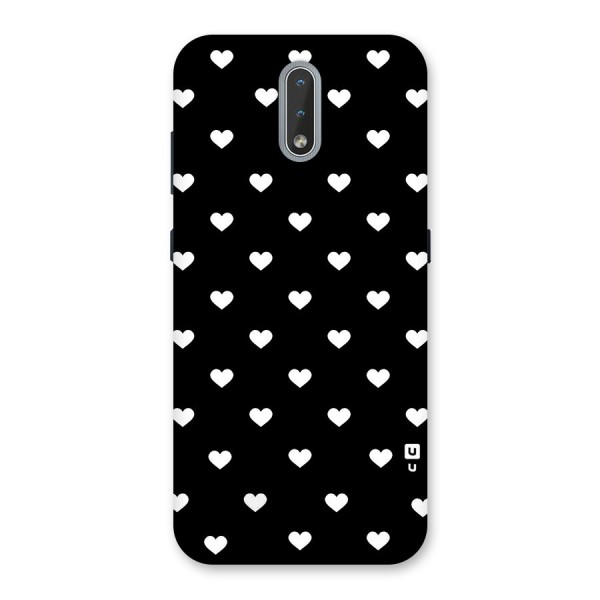 Seamless Hearts Pattern Back Case for Nokia 2.3