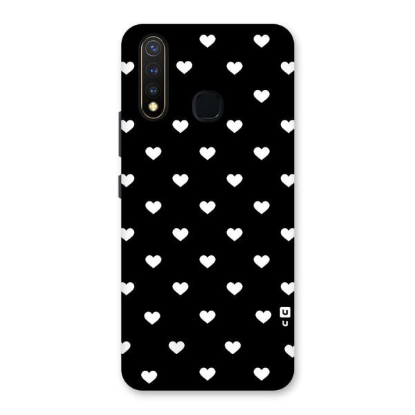 Seamless Hearts Pattern Back Case for Vivo U20