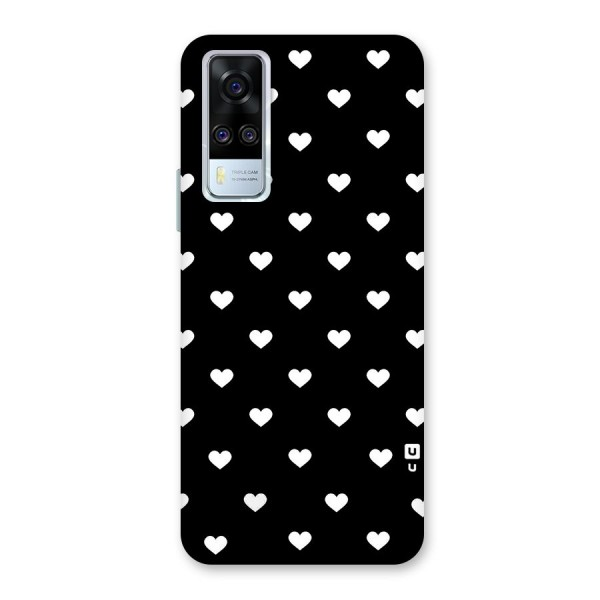 Seamless Hearts Pattern Back Case for Vivo Y51A