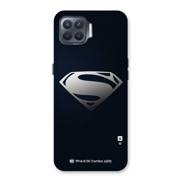 Superman Cool Logo Back Case for Oppo F17 Pro