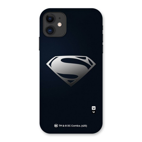 Superman Cool Logo Back Case for iPhone 11
